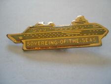 PINS RARE SOVEREING OF THE SEAS NAVIRE DE CROISIERE PAQUEBOT BATEAU