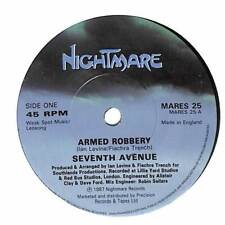 """Seventh Avenue - Armed Robbery - 7"""" Record Single"""