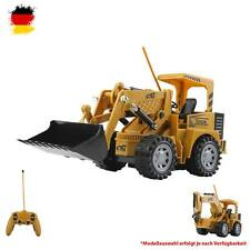 RC Ferngesteuerter Schaufel-Bagger, Radlader, Baustellen-Fahrzeug mit Akku, 1:24