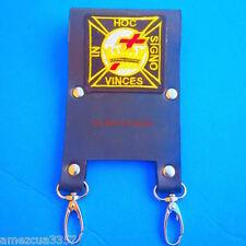 Knight Templar Masonic Belt Sword Scabbard Holder Golden  hardware York Rite