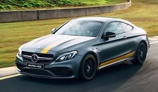 Yellow Complete Decal Sticker for MercedesBenz Coupe W205 C200 C250 C350 C43 C63