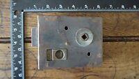 L296 Reclaimed Old Victorian Rim Lock / Door Latch