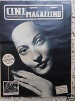 #cine magazzino teatro radio cinema merle oberon italian magazine # numero raro@