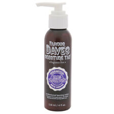 FAMOUS DAVE'S MOISTURE TAN FAKE TANNER LOTION FRAGRANCE-FREE SELF TANNING CREAM