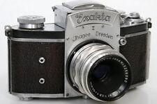 Exakta II 657875 35mm Camera With Tessar 50mm f2.8 Lens
