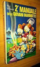 2° MANUALE DELLE GIOVANI MARMOTTE-1a EDIZIONE-OTTOBRE 1975-MONDADORI-WALT DISNEY
