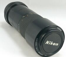Nikon Nikkor 200mm 4.0 micro Nikkor Micro Nikkor 200 4.0