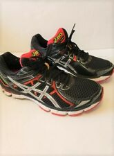 Men's ASICS GT-2000 Running Shoes Dynamic Duomax Black-Red size 11