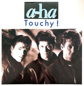"a-ha 7"" Touchy! - France (EX/EX+)"