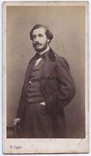 Mr Dubail Paris FranceCdv par Carjat Vintage albumine ca 1860