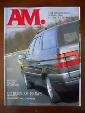 AM Mensile dell'Automobile n°32 1992 Fiat 500 Subaru M80 Nazca C2 [P41]