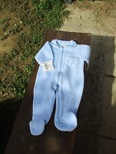 Surpyjama , pyjama courtelle polaire Petit Bateau  Naissance à 3 mois Layette