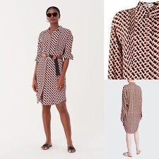 £479 Iconic DVF Dress, Diane Von Furstenberg Aliana Silk Crepe de Chine Dress, S