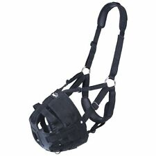 Tough 1 Deluxe Easy Breathe V Grazing Muzzle Adjustable Padded Halter Pony Size