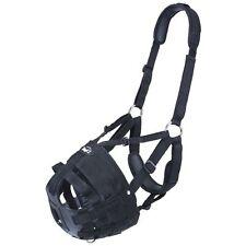 Tough 1 Deluxe Easy Breathe V Grazing Muzzle Adjustable Padded Halter Horse Sz
