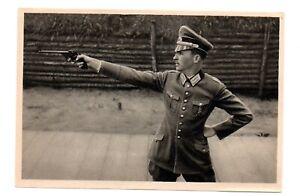 OLYMPIC  Los  Angeles 1932   orginal   Card  Shooting  Silver Heinz Hax  Germany