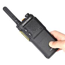 Zastone V77  Portable Two Way Ham FM  Radio Mini Walkie Talkie UHF 400-470MHz