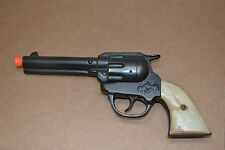 Vintage RARE 1938 KENTON GENE AUTRY CAST IRON Cap Gun BLACK Finish WORKS