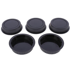 5Pcs Camera Rear Lens Cap Dust Body Cover For Canon EF ES-S EOS Series Lens RSYU