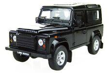 1:24 Landrover Defender Alloy Diecast car Model Toy Vehicle Gift Black 2453