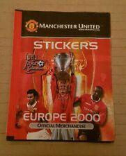 Futera Manchester United Europe 2000 Sealed Sticker Packet