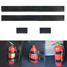 Fire extinguisher Holder Safety Strap Car Fasten Bandage Mount Magic Tape