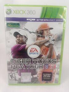 Tiger Woods PGA Tour 13 Microsoft Xbox 360 Brand New Factory Sealed NEW