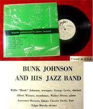 25cm LP  Bunk Johnson´s Jazz Band