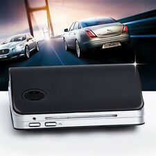 Classic Black Car Air Purifier Cleaner Ionic UV HEPA Ionizer Fresh Ozone HR
