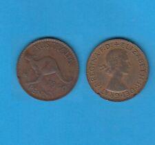 § Australie  Australia  Bronze Coin Elisabeth II  One  Penny Bronze 1960