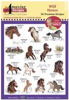 Amazing Design Wild Horses 30 Premium Designs ADP-67j Brand New Factory Sealed