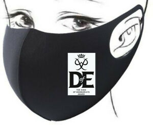 FACE MASK FACEMASK PRINCE PHILIP DUKE OF EDINBURGH R.I.P. AWARD SCHEME DOFE