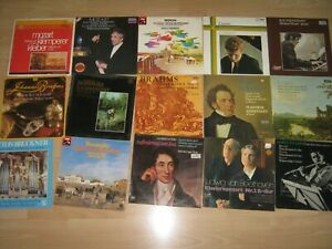 Sammlung, Konvolut: 45 Klassik Vinyl LP, Classic LPs