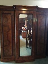 Magnificent Antique Victorian Combination Wardrobe w Chest of drawers!