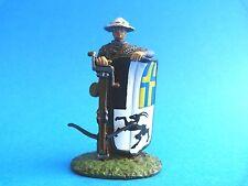 Figurine de plomb du moyen-âge - Arbalétrier suisse XVème siècle - Toy soldiers