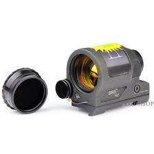 Solar Power Reflex 1.75 MOA Red Dot Sight Scope W/20mm Rail 1X38 SRS Style