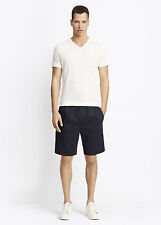 VM024 NWT VINCE COTTON TWILL EASY PULL ON MEN SHORTS SIZE 32 $165