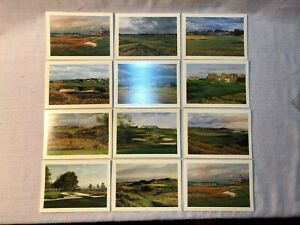 Linda Hartough The Seaside Collection 12 Note Cards Golf Assorted Golf Card