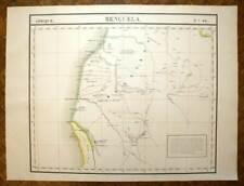 ANGOLA BENGUELA Carte geographique Afrique n°44 VANDERMAELEN 1827 antique map