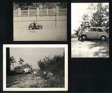 Lotto 3 fotografie - Auto FIAT 500 e 600 - Anni '60