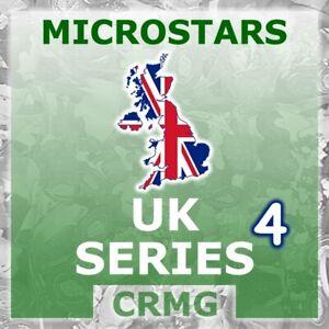 CRMG Corinthian MicroStars UK SERIES 4 WORLD CUP 2002 (like SoccerStarz)
