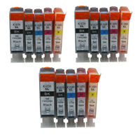 15x Ink Cartridge PGI 220 CLI221 Compatible For Canon PIXMA IP3600 IP4600 IP4700