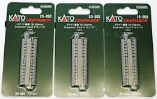 LOT of 3 N Scale KATO UNITRACK 20-050 Expansion Track 78-108mm 1 Piece per Pack