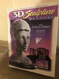 THE ETERNAL WOMAN - 3D Sculpture / Layer Puzzle Milton Bradley c.1996 COMPLETE