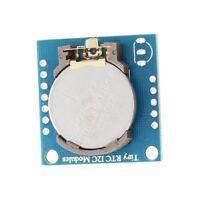 I2C RTC DS1307 AT24C32 Module d'horloge en temps reel pour Arduino AVR PIC Q5H2