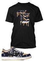 Sneaker Tee Shirt to Match with Travis Scott x SB Dunk Shoe Pro Club Graphic Tee