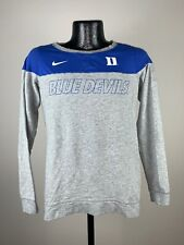 Women's Nike Duke Blue Devils Blue & Gray Long Sleeve College Shirt XS