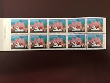 Canadian Stamp Booklet - 1985 32-Cent CHRISTMAS - SANTA CLAUS PARADE Pane of 10