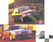 Honda Accord Saloon 1.8i 2.0i S LS ES TDi 2.2i VTEC 1996-97 Original UK Brochure