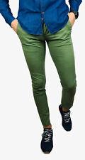 Pantalone Uomo cotone elastico capri kino skinny slim fit jeans 42.44.46.48.50.